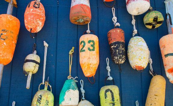 Buoy wall, Myrtle Beach