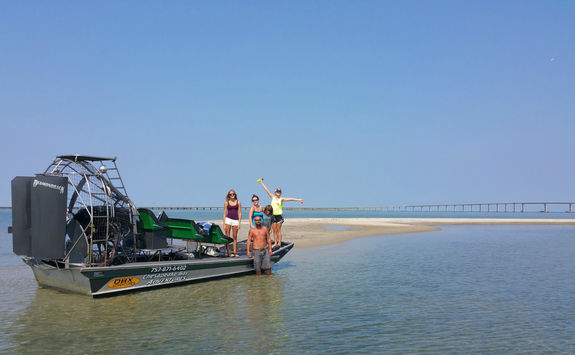 Chesapeake Bay airboat