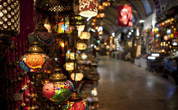Lamps in the Grand Bazaar