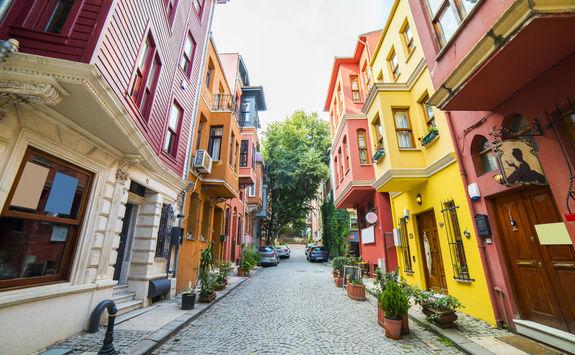Colourful houses in Kuzguncuk