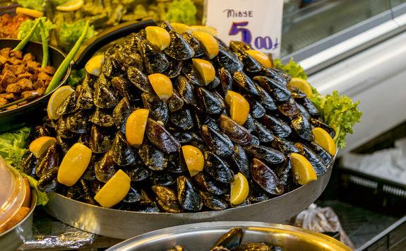 Street food in turkish markets