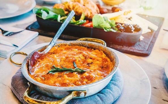 Menemen: turkish tomatoes and eggs