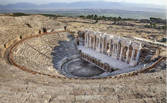 Hierapolis Amphiteater in Pamukkale