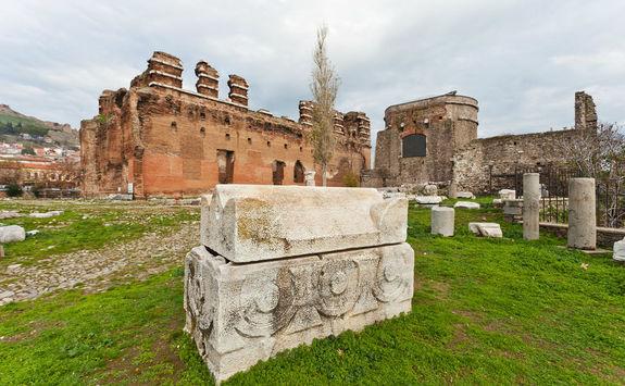 Temple of Dionysus at Pergamon
