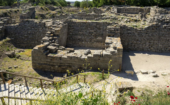 Ruins of the Ancient City of Troia