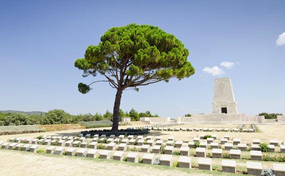 Lone Pine Memorial in Gallipoli