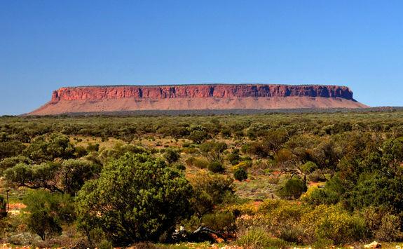 Uluru in Kata Tjuta National Park