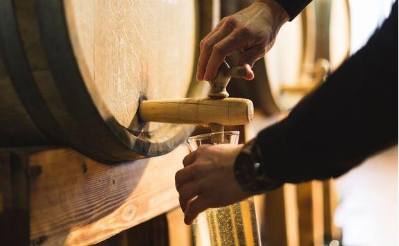 Wine from barrel