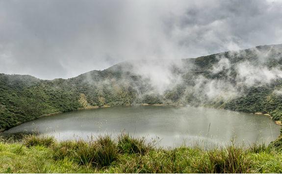 Mount Bisoke Crater