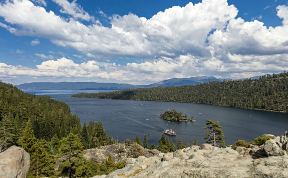 Emerald Bay of Lake Tahoe