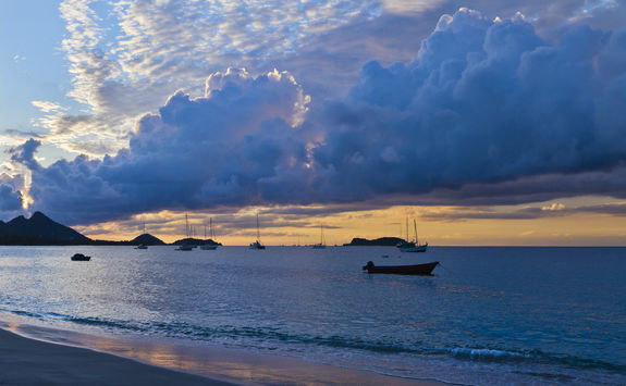 Sunset Grenada Beach
