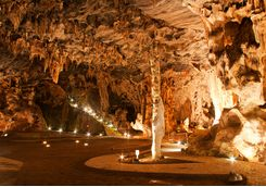 Inside Cango Caves