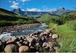 Drakensberg Mountain River