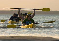 Lake Sibaya kayaking, Thonga Beach Lodge