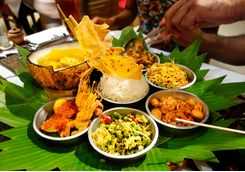 Bali dinner local food selection
