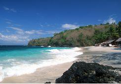 Candidasa Beach, Eastern Bali
