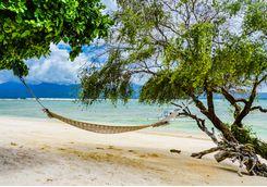 hammock on gili island