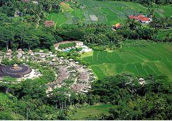 amanjiwo areial view