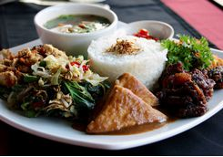 traditional food indonesia