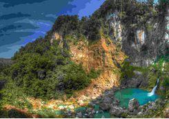 waterfall sumba island