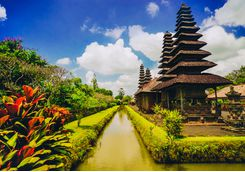 ubud temple taman ayun