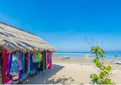 beach market in bali