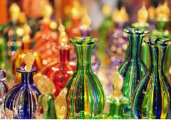 murano coloured glass