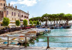 lake garda harbour