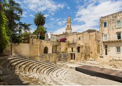 An ampitheatre in Lecce