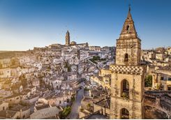 Sunrise over Matera, Puglia