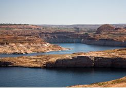 View across Lake Powell