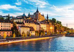 River in Stockholm