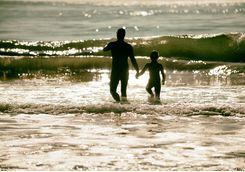father and son in santa barbara