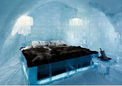The Icehotel bed