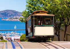 A San Fran cable car