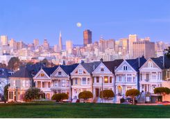 Notorious Painted Ladies homes