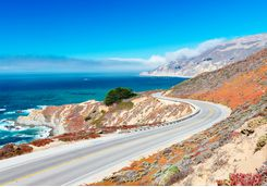 Windy roads of Big Sur