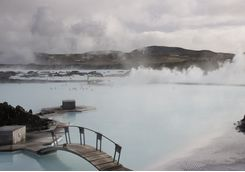 View across the Blue Lagoon