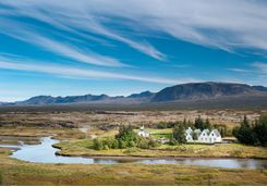 View across Ingvellir National Park