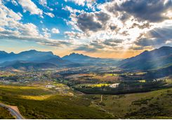 Views of Franschhoek