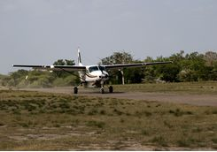 Selous Game Reserve plane