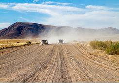 driving namibia