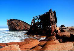 namibia shipwreck