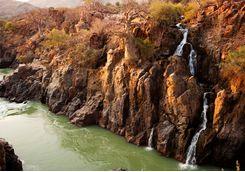 Kunene River, Angola border