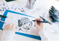 Manga class in Tokyo