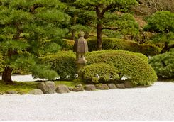 Ryoanji gardens in Kyoto