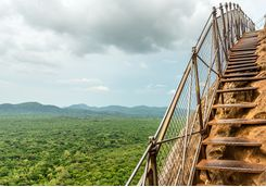 sigiriya steps to the top