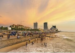 Beach in Colombo