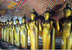 dambulla buddhas