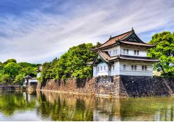 Imperial Palace in Tokyo
